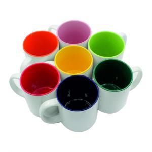 Liela krūzīte ar krāsainu iekšpusi Tilpums: 450 ml