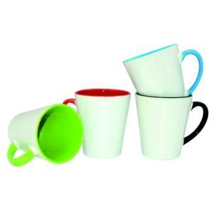 Krāsainas mazās latte krūzītes<br>Tilpums: 300 ml