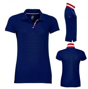 Divkrāsu sievešu polo krekls