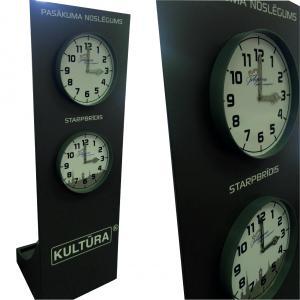Nestandarta risinājumi - pulkstenis