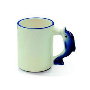 Krūzīte ar delfīnu<br>Tilpums: 330 ml