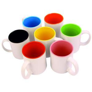 Krūzīte ar  krāsainu iekšpusi<br>Tilpums: 330 ml
