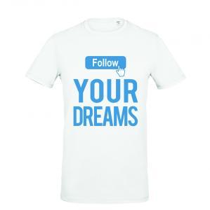 Vīriešu kokvilas T-krekls